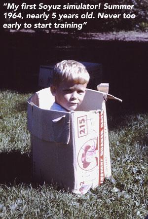 Chris Hadfield (5 Jahre)